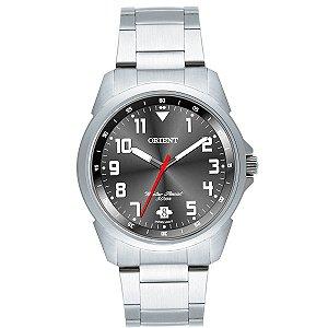 Relógio Orient Masculino Analógico Aço MBSS1154AG2SX