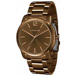 Relógio Lince Feminino Analógico Chocolate LRB4449LN2NX