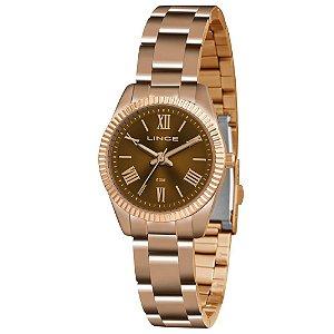 Relógio Feminino Lince Analógico Rosé LRR4492LN3RX