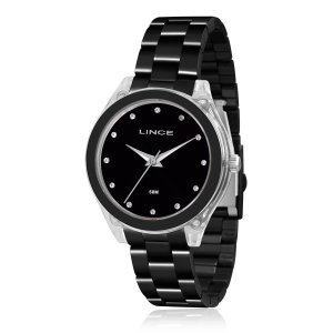Relógio Lince Feminino Analógico Preto LRN4431PP1PX