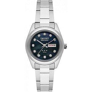 Relógio Orient Feminino Automático Prata 559SS010P1SX