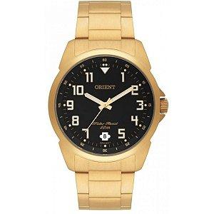 Relógio Orient Masculino Analógico Dourado MGSS1103AP2KX