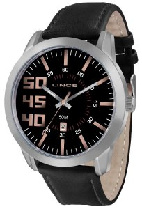 Relógio Lince Masculino Analógico Couro MRC4352SP2PX