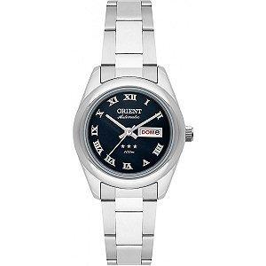 Relógio Orient Feminino Automático Prata 559SS009P3SX