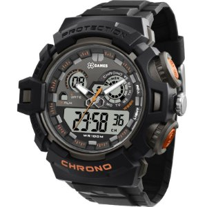 Relógio X-Games Masculino Anadigi Preto XMPPA249BXPX