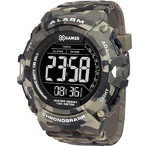 Relógio X-Games Masculino Digital Camuflado XMPPD488PXEP