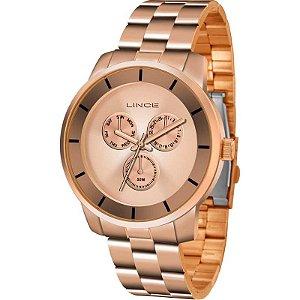 Relógio Lince Feminino Analógico Rosé LMR4478LR1RX
