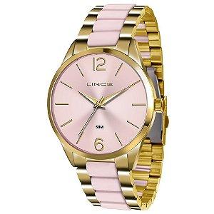 Relógio Lince Feminino Analógico Bicolor LRT4442LR2KR