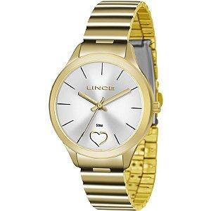 Relógio Lince Feminino Analógico Dourado LRG4430LS1KX