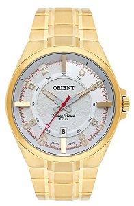 Relógio Orient Masculino Analógico Dourado MGSS1158S2KX