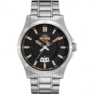 Relógio Bulova Masculino Analógico Prata WH30055T