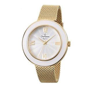 Relógio Champion Feminino Analógico Dourado CN27385H