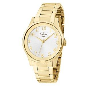 Relógio Champion Feminino Analógico Dourado CN25243H