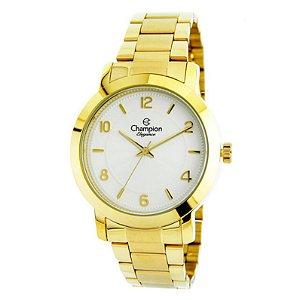 Relógio Champion Feminino Analógico Dourado CN25065H