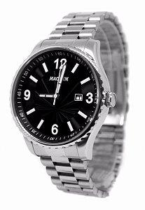 Relógio Magnum Masculino Analógico Prata MA31364T
