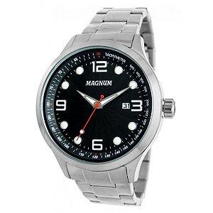 Relógio Magnum Masculino Analógico Prata MA33013T