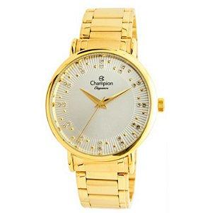 Relógio Champion Feminino Analógico Dourado CN25921H