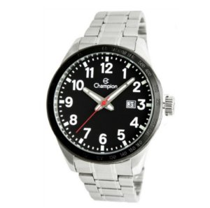 Relógio Champion Masculino Analógico Prateado CA31695T