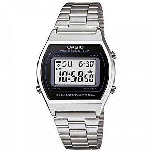 Relógio Casio Masculino Digital Prata B640WD1AVDF