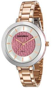 Relógio Mondaine Feminino Analógico Dourado 99172LPMVRE4