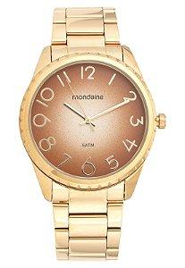 Relógio Mondaine Feminino Analógico Dourado 99008LPMVDE1K1