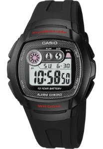 Relógio Casio Masculino Digital Preto W2101CVDF