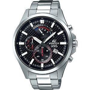 Relógio Casio Masculino Analógico Prata EFV530D1AVUDF