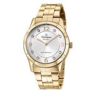Relógio Champion Feminino Analógico Dourado CN29909H