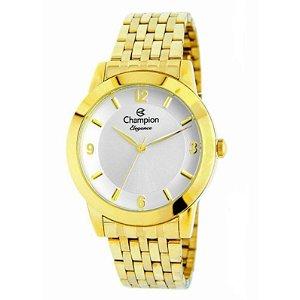 Relógio Champion Feminino Analógico Dourado CN26840H