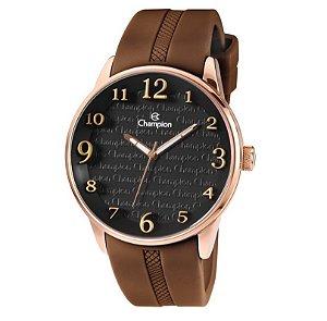 Relógio Champion Unissex Analógico Marrom CH30224U