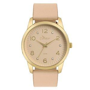 Relógio Condor Feminino Analógico Rosa CO2035KWE/K2T