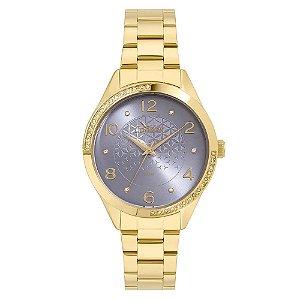 Relógio Condor Feminino Analógico Dourado