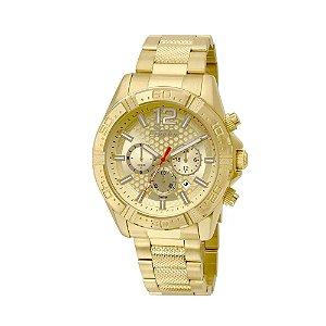 Relógio Condor Masculino Cronógrafo Dourado COVD33AR/4D