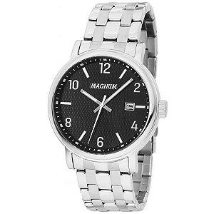 Relógio Magnum Masculino Analógico Prata MA34610T