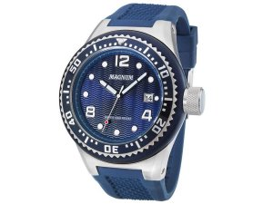 Relógio Magnum Masculino Analógico Azul MA34021F
