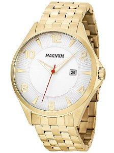 Relógio Magnum Masculino Analógico Dourado MA33291H