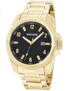 Relógio Magnum Masculino Analógico Dourado MA34996U