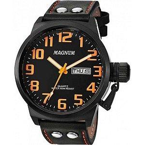 Relógio Magnum Masculino Analógico Couro MA32952J