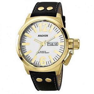 Relógio Magnum Masculino Analógico Couro MA31524B