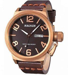 Relógio Magnum Masculino Analógico Couro MA33399M