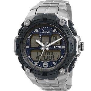 Relógio Condor Masculino AnaDigi Prata COAD0912/3P