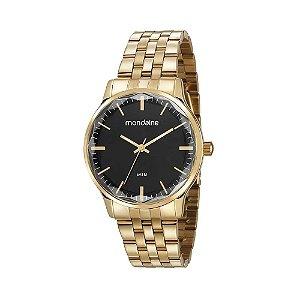 Relógio Mondaine Feminino Analógico Dourado 53642LPMVDE1