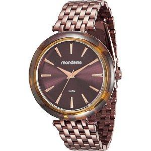 Relógio Mondaine Feminino Analógico Chocolate 76559LPMVME5