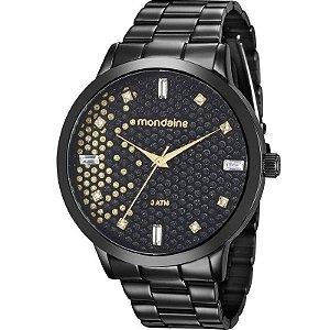 Relógio Mondaine Feminino Analógico Preto 76708LPMVPE3
