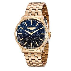 Relógio Mondaine Feminino Analógico Dourado 99023LPMVDE1