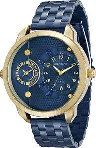 Relógio Mondaine Feminino Analógico Azul 76544LPMVLE7