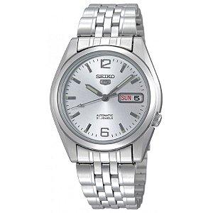 Relógio Seiko Masculino Automático Prata SNK385B1S2SX