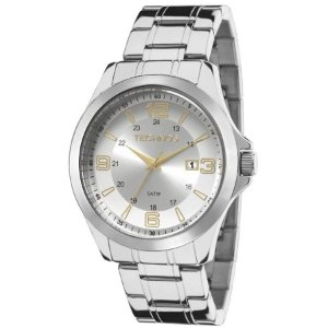 Relógio Technos Masculino Analógico Prata 2115MKT/1K
