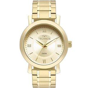 Relógio Technos Feminino Analógico Dourado 2035MMS/4X