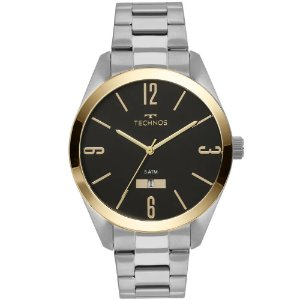 Relógio Technos Masculino Analógico Prata 2115MNV/1P